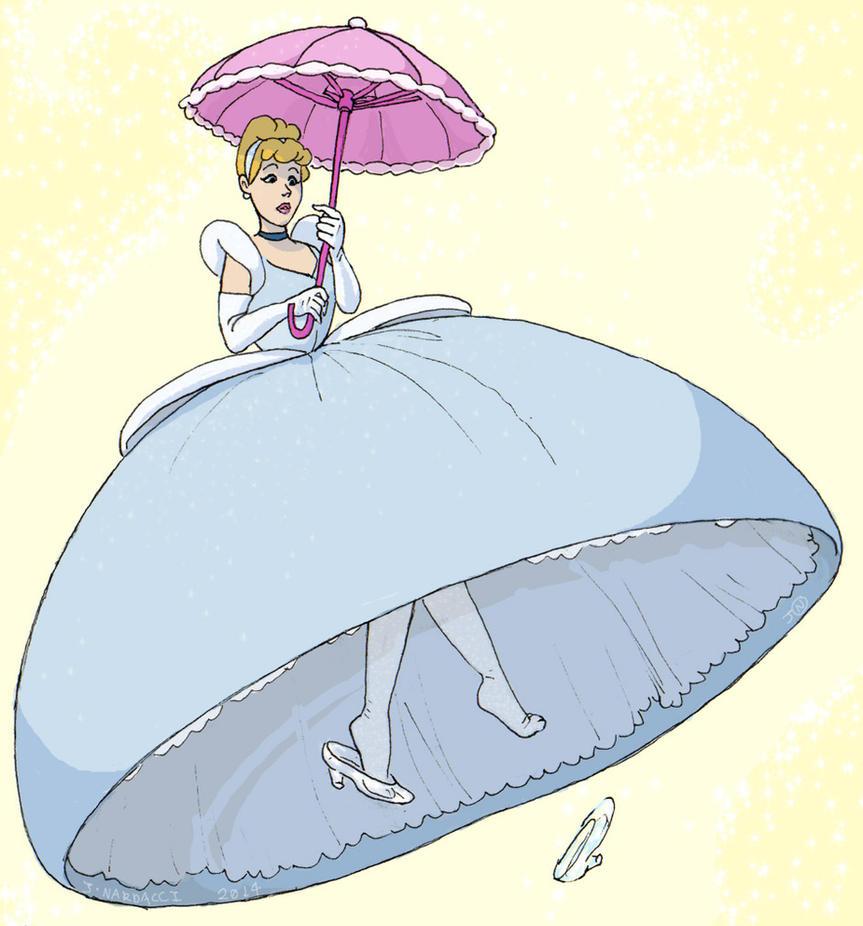 Cinderella Parachute Dress Story Updated By Historyman101 On DeviantArt