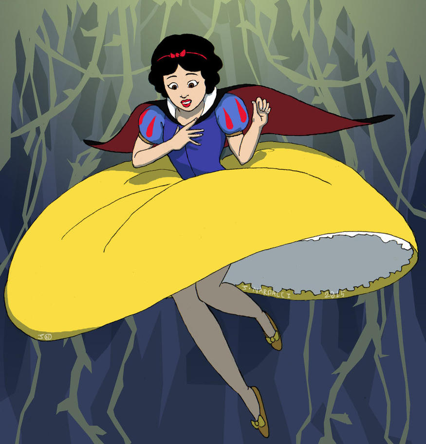 Snow White Parachute Dress Story By Historyman101 On