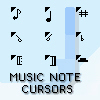 Music Cursor Package by swimboy5002