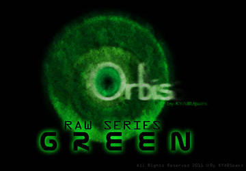 Orbis Raw Series Cursors - Green by KYABUpaks