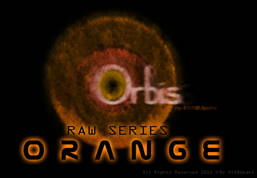 Orbis Raw Series Cursors - Orange