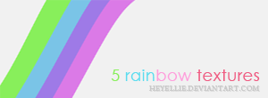 Rainbow textures by HeyEllie