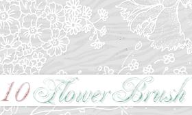 Flower Brushes by HeyEllie