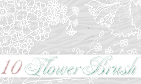 Flower Brushes by HeyEllie