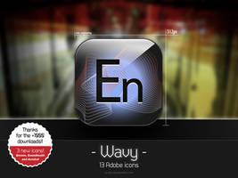 Wavy Adobe Icons by AL-Arts