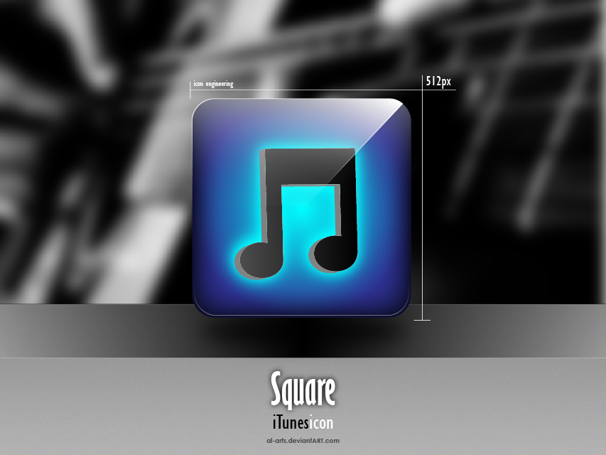 Square iTunes by AL-Arts