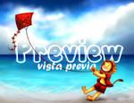 [Animated]   August Beach!