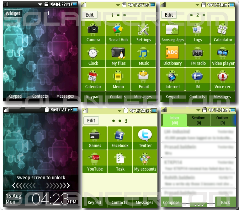 to android mod download link insrtuction samsung corby 2 android