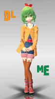 MMD - Cute Little Miss Gumi [DL] by ynn016