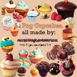 -22 Cupcakes Png By Me'.
