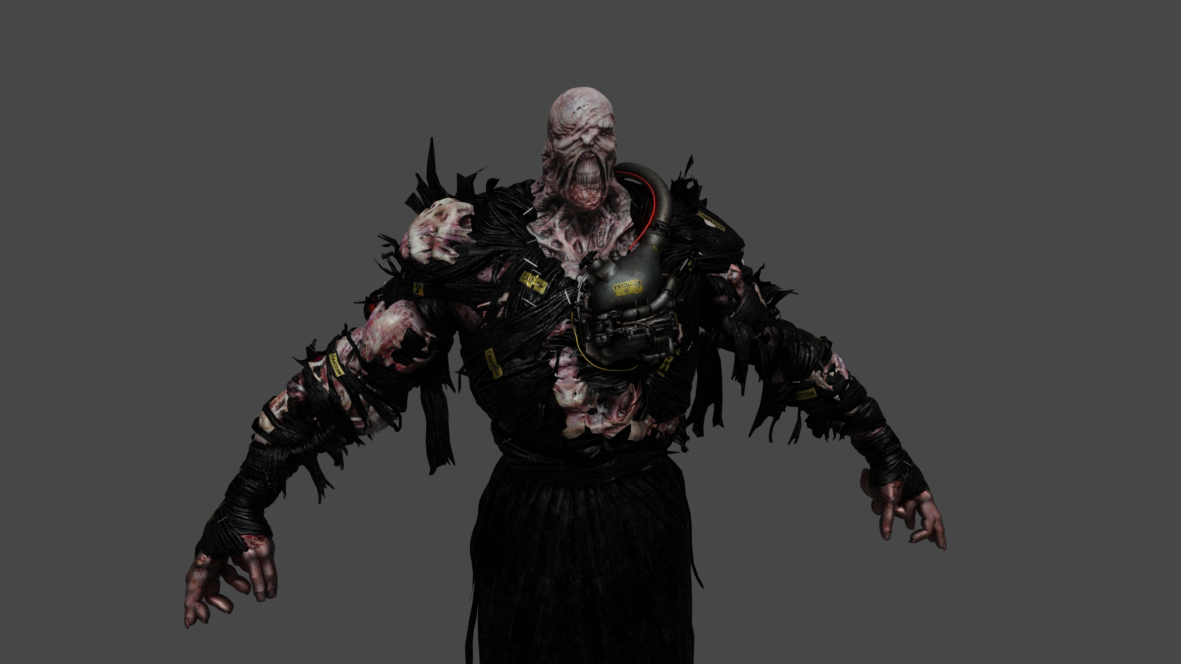 Resident Evil 3 Remake Nemesis By Mattcroft008 On Deviantart