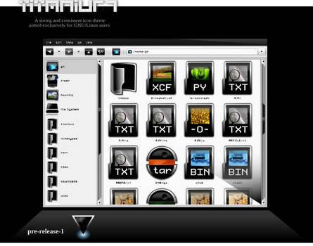 Titanium Icon Theme PRE1