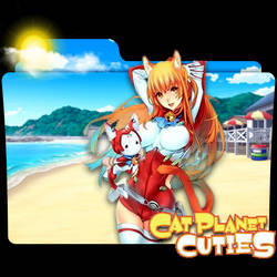 Cat Planet Cuties Folder Icon by xxRaikageChruzu-Txx