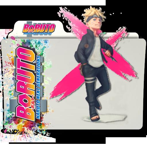 Boruto: Naruto Next Generations Folder Icon V4 By