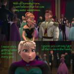 Frozen AU-Huge Elsa