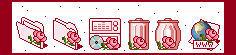 Rose Windows icons by JoMajik