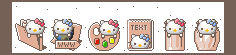 Windows Hello Kitty Icons by JoMajik