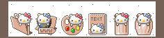 Windows Hello Kitty Icons by JoMajik