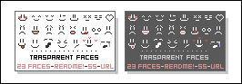 Transparent Smiley Faces