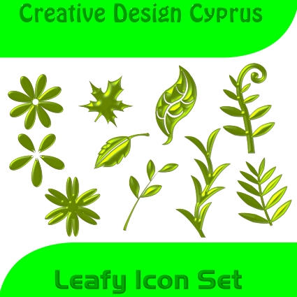 Leafy Icon Set by cyprus13
