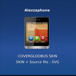 Alezzaphone Covergloobus skin by alezzacreative
