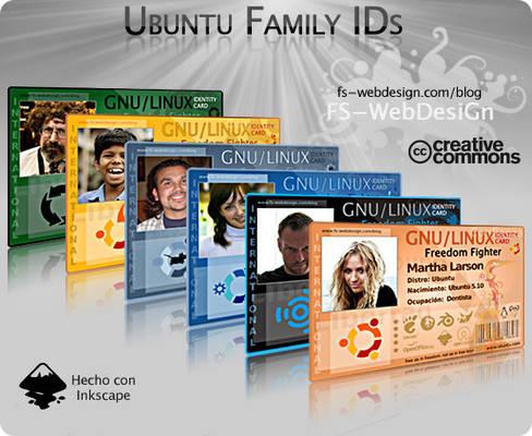 Promocion Ubuntu Family ID
