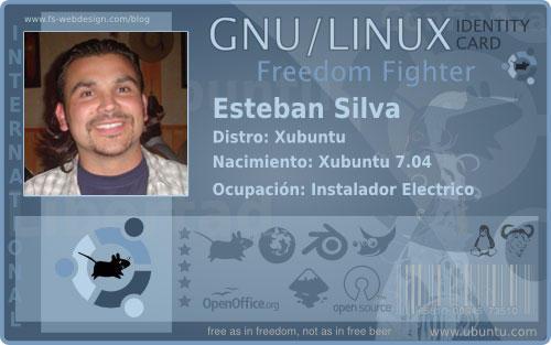 Xubuntu id card