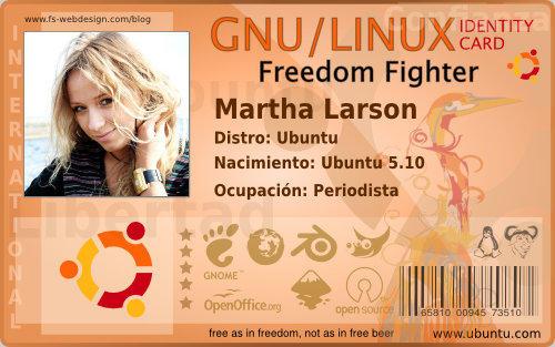 Ubuntu ID card