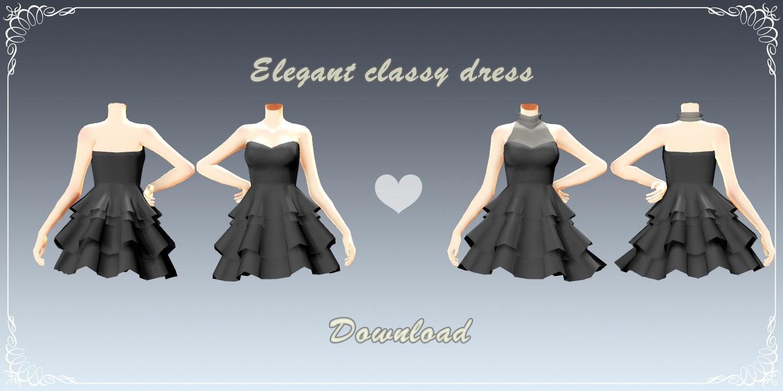Elegant classy dress by YamiSweet