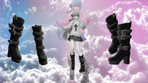 Boots download (MMD)