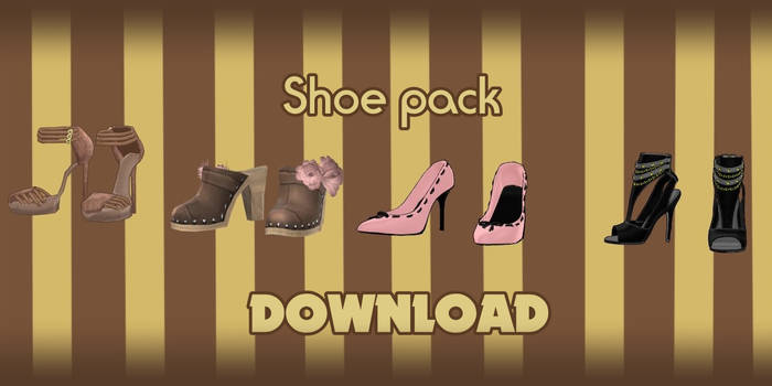 Shoes pack - DOWNLOAD