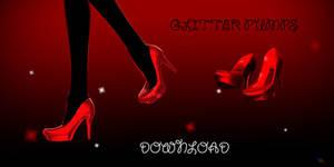 Glitter heels - DOWNLOAD