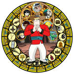 Xiaolin Showdown Clay KH Stain Glass