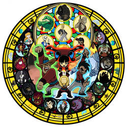 Xiaolin Showdown KH Stain Glass