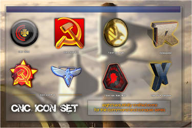 Command and Conquer Icon Set by Cody-7