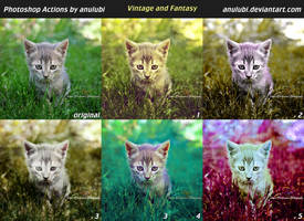 Anulubi Action Vintage And Fantasy by anulubi