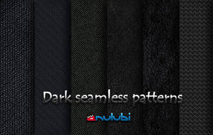 Dark Seamless Patterns [photoshop] by anulubi