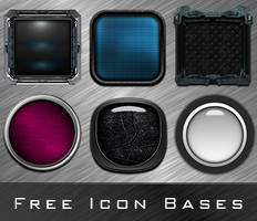 Icon Bases with layers (PSD's) by anulubi