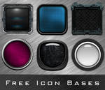 Icon Bases with layers (PSD's)