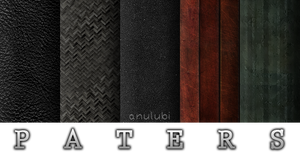 Dark and grunge seamless patters for photoshop