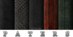 Dark and grunge seamless patters for photoshop by anulubi