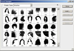 Hair Brush | photoshop :by anulubi by anulubi