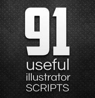 91 Useful Adobe Illustrator Scripts by anulubi
