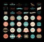 Free premium Badges BUNDLE . AI (VECTOR FILES)