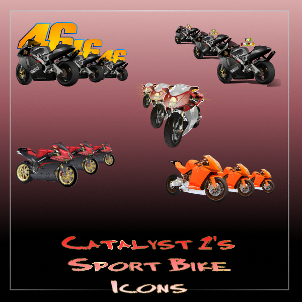 Catalyst1's Sport Bike Icons by Catalyst1