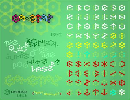 Gametaz Typeface