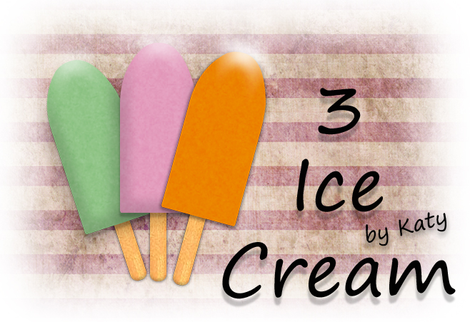 3 ice cream