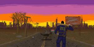 Fallout 4 - Pixelart