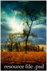 Afterglow. psd - by phyzer