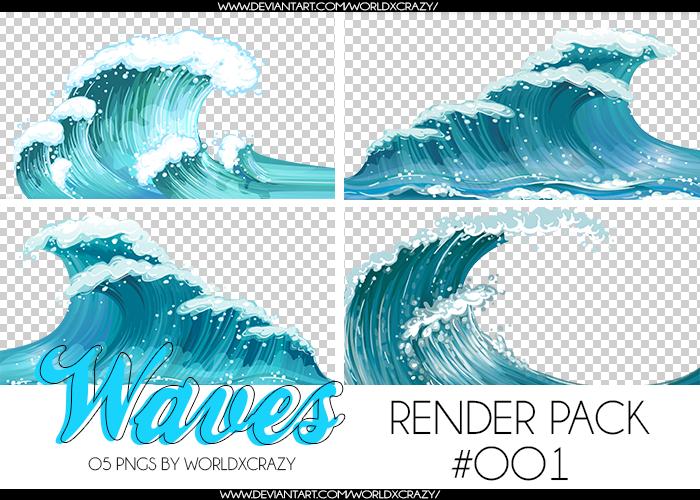 +RENDER PACK//WAVES OO1